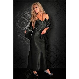 Glamour gala evening dress black