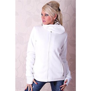 WARM AND BEAUTIFUL JACKET WITH LINING WHITE