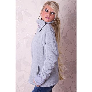 WARM AND BEAUTIFUL JACKET WITH LINING GREY