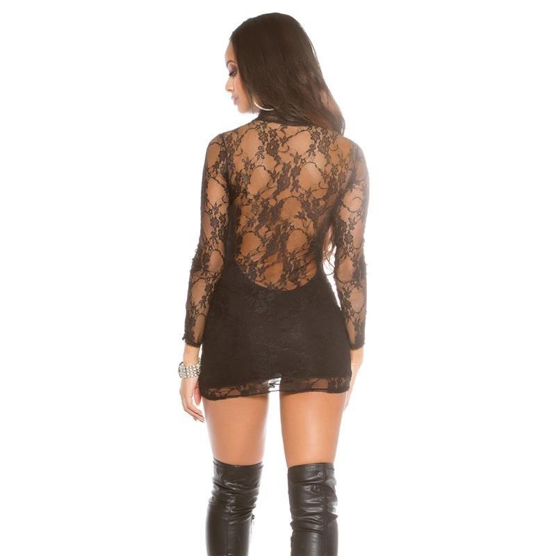 sexy minikleid aus spitze 39 95. Black Bedroom Furniture Sets. Home Design Ideas