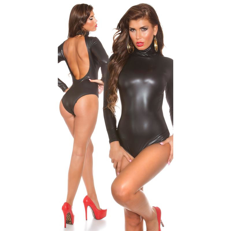 Sexy Latex Look Body Backless 29 95
