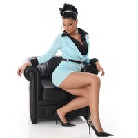 ELEGANT MINIDRESS IN DOUBLE-LOOK WITH BELT TURQUOISE / BLACK