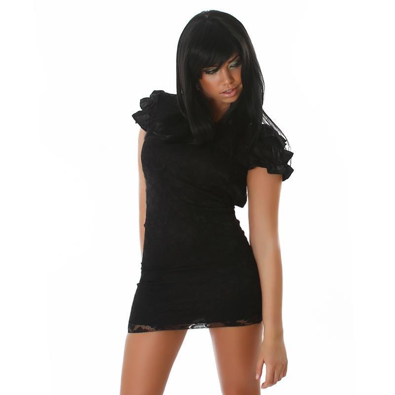 elegantes minikleid aus spitze 39 95. Black Bedroom Furniture Sets. Home Design Ideas