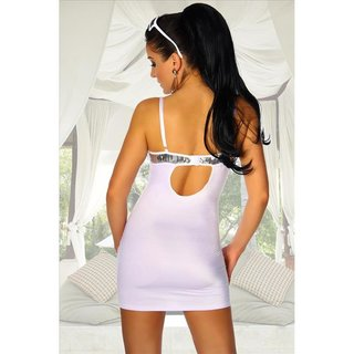 Sexy party dress mini dress with sequins clubwear white