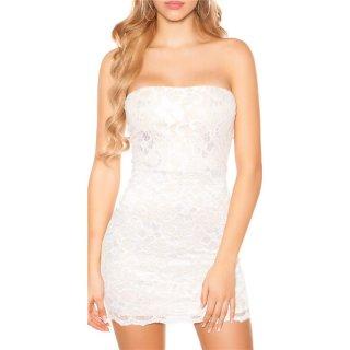 Weiß spitzenkleider kurz Online Shop