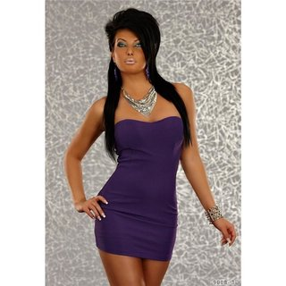 Elegant evening dress mini dress purple