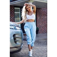 Casual womens loungewear jogger bottoms trackies baby...