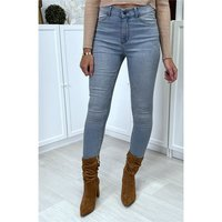Sexy skintight womens drainpipe jeans blue