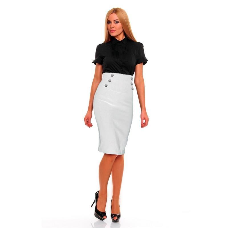 elegante kurzarm bluse mit zierfalten 17 95. Black Bedroom Furniture Sets. Home Design Ideas
